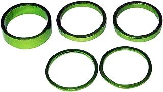 Bazooka铝头垫组 1-1/8 绿色 2mm/5mm/10mm AHGRN