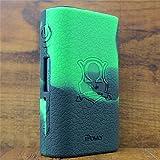 ModShield for Eleaf iStick Power 80W TC Silicone Case ByJojo iPower Shield Cover Skin Wrap (Green/Black)