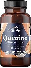 کپسول های Quinine 800mg ، قرص های Cinchona Bark (Cinchona succirubra ، پوست پرو) مکمل های گیاهی