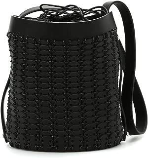 Luxury Fashion | Paco Rabanne Womens 1401SOLE01TO10 Black Shoulder Bag | Spring Summer 19