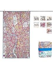 Lifeventure Ręcznik z mapą OS uniseks