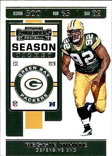 2019 Panini Contenders #2 Reggie White Green Bay Packers Football Card