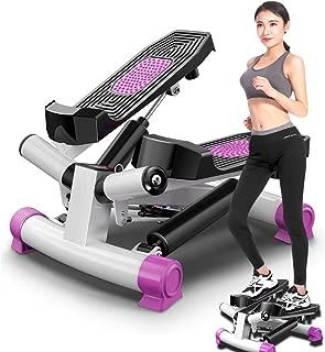 女神パープル mini 3D ステッパー 山登り感覚 有酸素運動 ルームランナー 踏み台昇降運動 ステップ台 健康エクササイズ器具