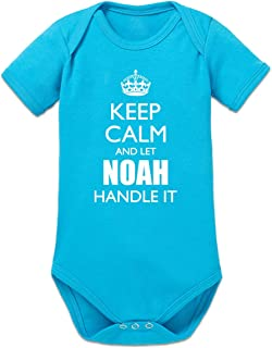 Shirtcity Keep Calm and Let Noah Handle It Baby Strampler by