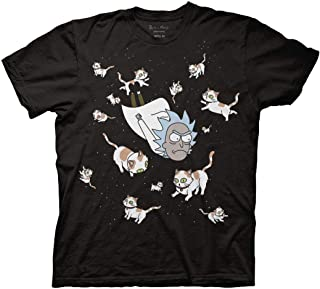 Ripple Junction Rick and Morty Rick and Space Cats Adult T-Shirt