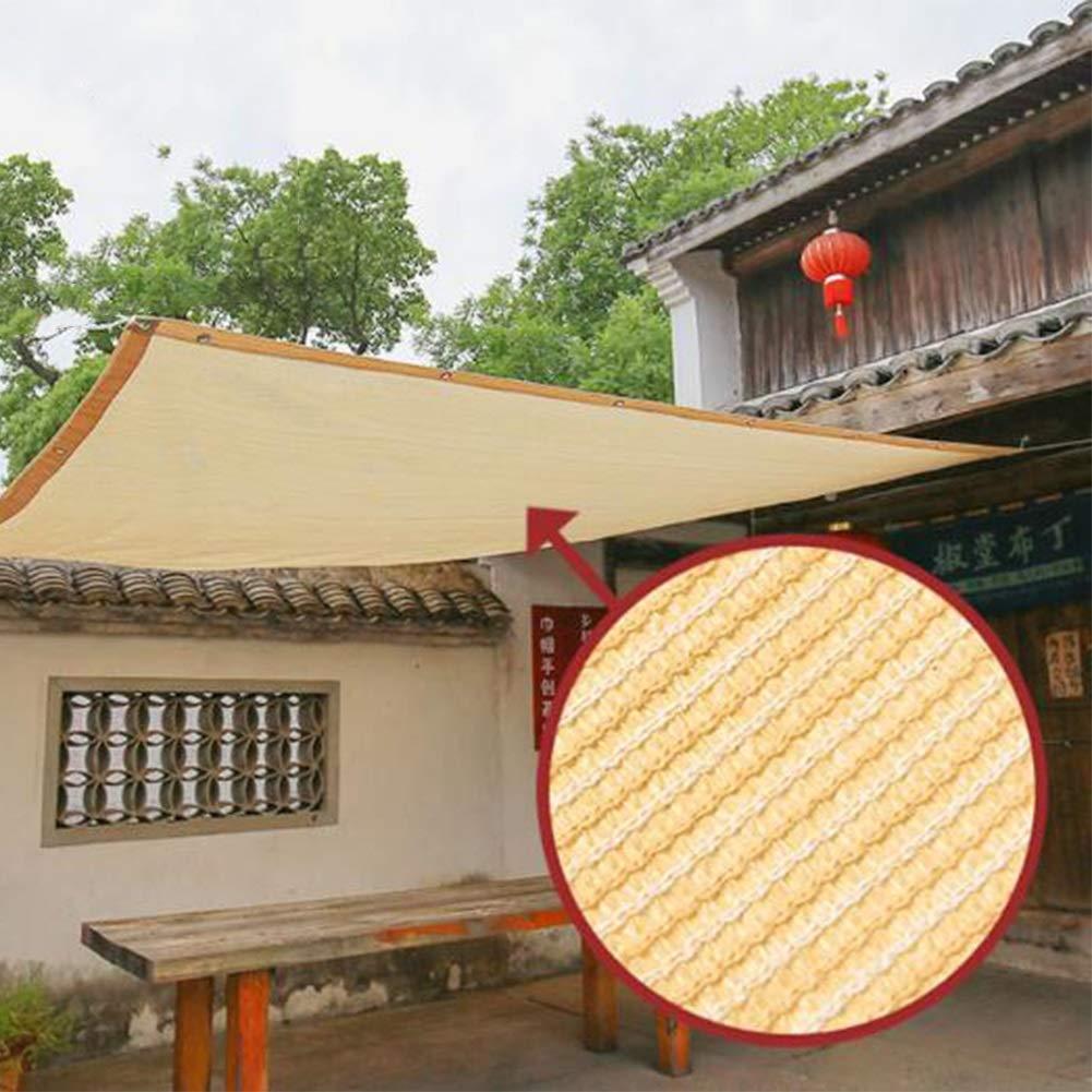 Toldos CJC Protector Solar Vela De La Sombra Tela Sol Tela De Sombra con Ojales para Cubierta De Pérgola (Color : Sand, Size : 3x5m): Amazon.es: Hogar