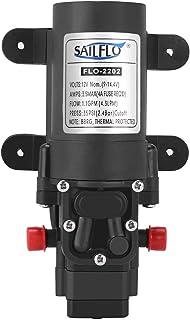 12V Diaphragm Pump Self Priming Water Pump for RV Caravan Boat Marine Use