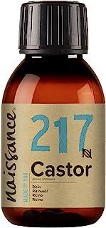 Naissance Cold Pressed Castor Oil 100ml - Pure, Unrefined, Vegan, Hexane Free, No GMO