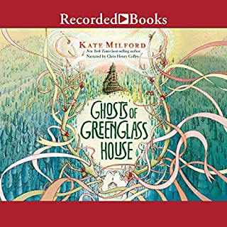 Ghosts of Greenglass House                   By:                                                                                                                                 Kate Milford                               Narrated by:                                                                                                                                 Chris Henry Coffey                      Length: 13 hrs and 34 mins     2 ratings     Overall 5.0