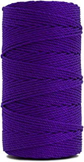 Rosary Twine, Twisted Nylon. Size #36, Purple, 1 lb 1-pack