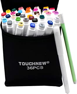 36 Alcohol markers Touch new markers, Marker Pens Twin Tip Text Marker Graffiti Pens Marker Pens Set for Students Manga Artist.
