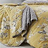 Catherine Lansfield Canterbury Tagesdecke, leicht zu pflegen, Ocker, Bedspread - 220x230cm