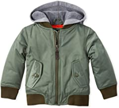 The Children's Place Baby Boys Hooded Bomber Jacket