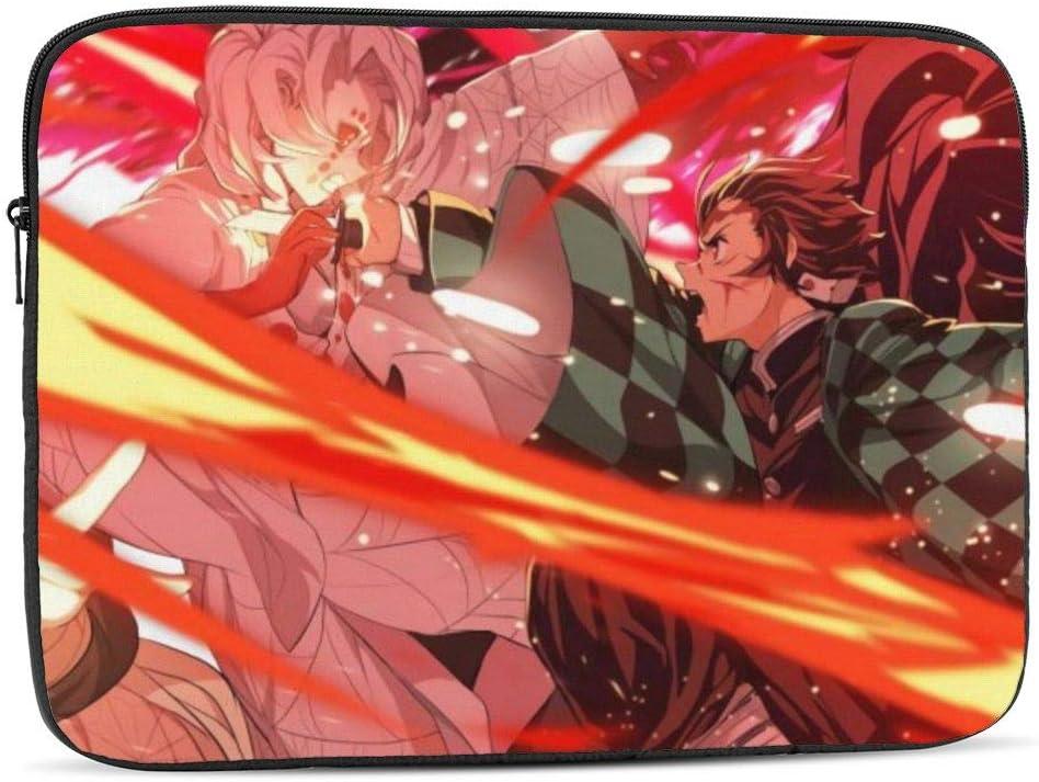 Tanjirou Anime 12 Overseas parallel import regular item inch Laptop security Protective Cove Case Zipper Sleeve