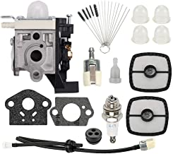 Allong Carburetor with Air Filter Brushes Tool for Echo SRM225 SRM225i SRM225U SRM225SB GT225 GT225i GT225L GT225SF PAS225 PE225 PPF225 SHC225 Trimmer