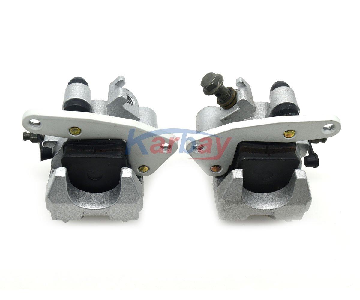 Aquiver Auto Parts New Front Brake Caliper Set for Honda TRX 400EX 300EX 250EX SPORTRAX 400 300 250