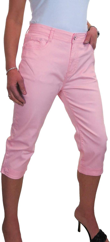 ICE 1510 Diamante Cuff Over item handling Crop Capri Stretch Leg Jeans At the price of surprise