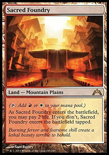 Magic The Gathering - Sacred Foundry (245) - Gatecrash - Foil