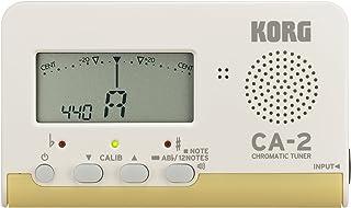 KORG クロマチックチューナー CA-2 吹奏楽 ブラスバンド オーケストラ ギター 声楽 アカペラ 個人練習に最適 200時間連続稼働 軽量 コンパクト