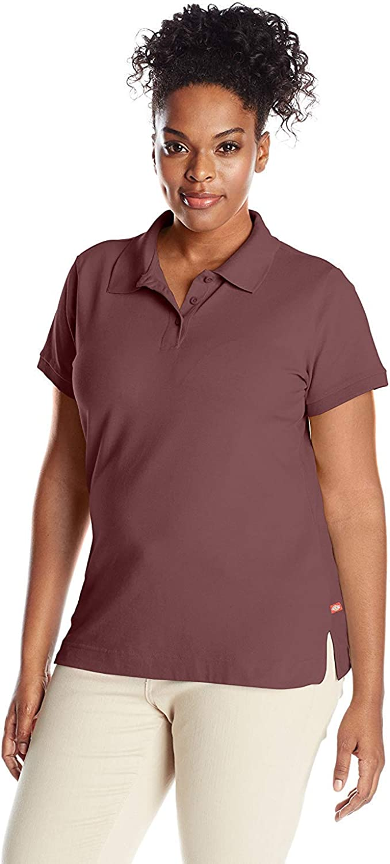 Dickies Juniors Plus Size Short Sleeve Polo Shirt
