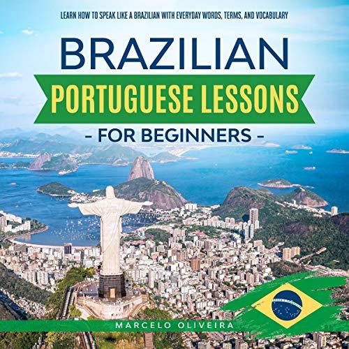 Brazilian Portuguese Lessons for Beginners cover art