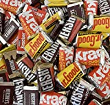 Hershey's Chocolate Assorted Miniatures, Mr. Goodbar, Hershey's Special Dark Chocolate, Hershey's Milk Chocolate, Krackel Candy Bar, 2 Pounds Bag [FREE COOL-PACK]