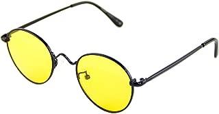 Cyxus Blue Light Filter Computer Glasses,UV Blocking Anti Eye Fatigue Headache Transparent Lens Black Frame Unisex (Men/Women) (yellow lens,8702)