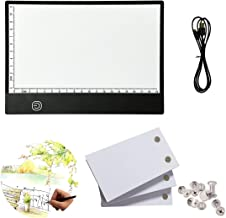 flip Book kit: 270 Sheets Animation Paper with Removable Screws & LED Light Box for Tracing and Drawing, USB Powered A5 Li...