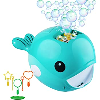Bubble Maker Bathtime Toys Outdoor Indoor use for Fun time Baby Bath Bubble Toy,2 Pack Electric Bubble Machine Random Color