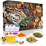 Wellness-Tee-Adventskalender 'Fit for Christmas 2019' mit 24 Detox-, Wellness-, Ayurveda- und...