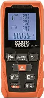Klein Tools 93LDM65 Laser Distance Measure 98-Foot, Digital Backlit LCD, Distance, Area, Volume, Pythagorean
