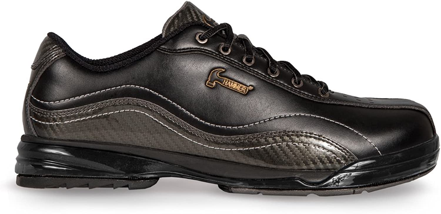 Hammer Mens Force Performance Bowling shoes Black Carbon- Left Hand