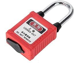 Veel voorkomende sloten G01DP stalen straal veiligheid stofdicht nylon hangslot lockout tag uit isolatie slot Stabiel mate...