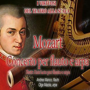 Mozart: Concerto per flauto e arpa, K. 299 - Ibert: Entr'acte per flauto e arpa (Live Recording)
