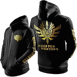 Monster Jacket Adult Cool Dragon Pattern Hunter Fashion Sweatshirt