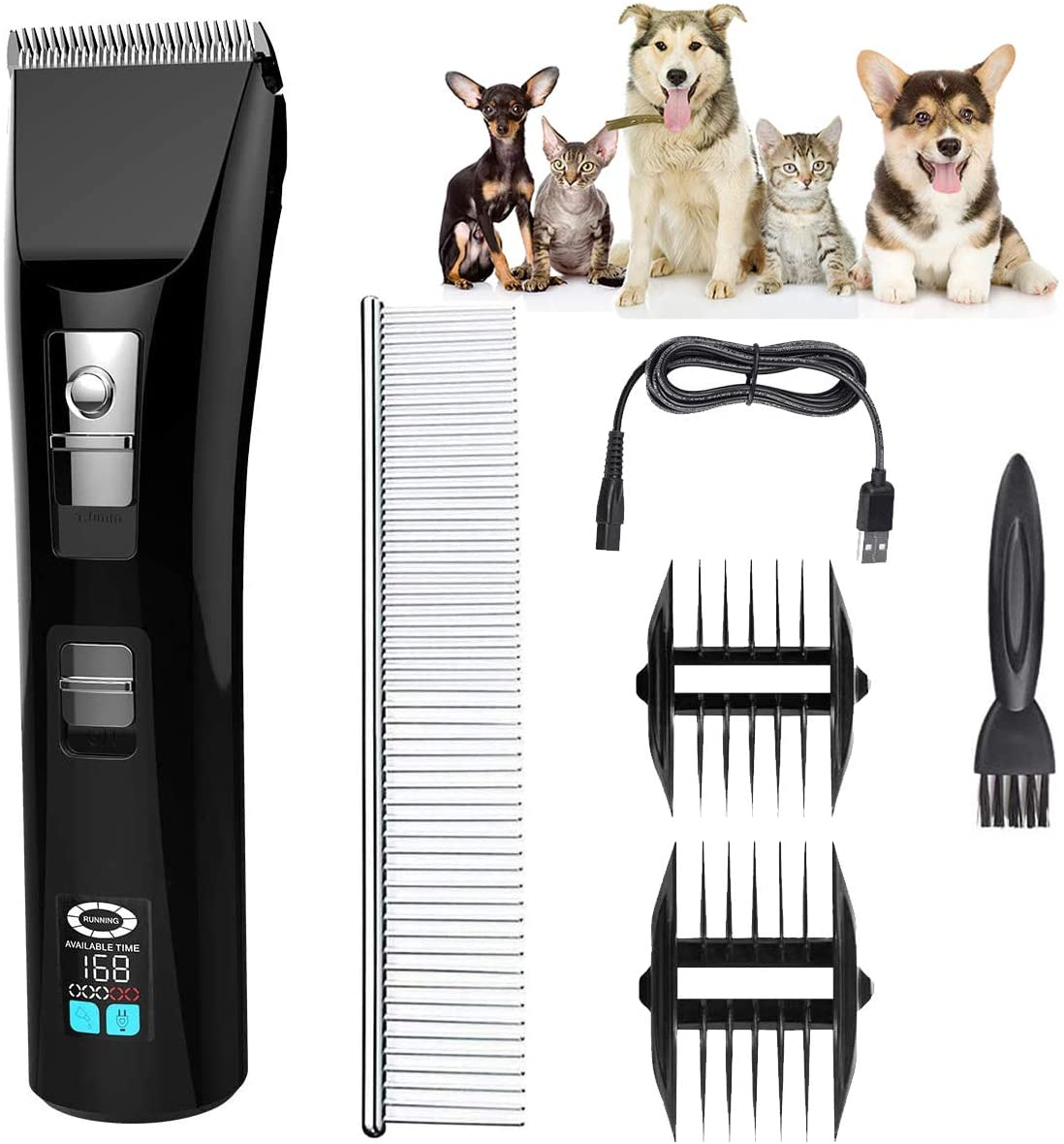 Dog Clippers Pet Grooming wit Shaver Max 54% OFF Professional Ranking TOP4