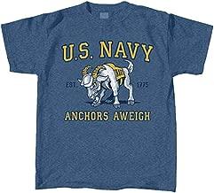Kids U.S. Navy Mascot T-Shirt - Anchors AWEIGH