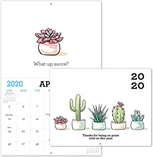 Gag Gifts – 2020 Calendar for Funny White Elephant Gag Gift Exchange, Large..