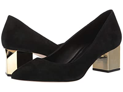 MICHAEL Michael Kors Petra Pump (Black) Women
