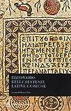 Dizionario delle sentenze latine e greche...