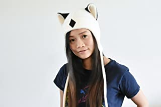 c22efd2c911 Inuyasha - KIRARA hat - Aviator Hat - Earflap Cat Hat - KIRARA Fleece Hat -