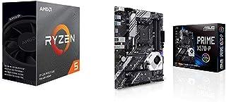 Pack gráfica ASUS y Procesador AMD: Ryzen 5 3600 y ASUS Prime X570-P
