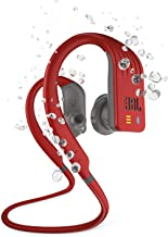 JBL Endurance DIVE - Waterproof Wireless In-Ear Sport Headphones with MP3 Player - Red photo