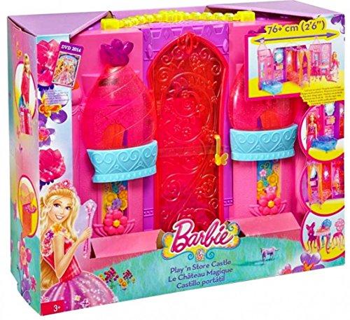Castillo portátil Barbie Mattel