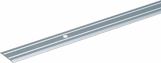 GAH-Alberts 484132 overgangsprofiel | met twee rillen | aluminium, zilverkleurig geanodiseerd | 900 x 25 mm