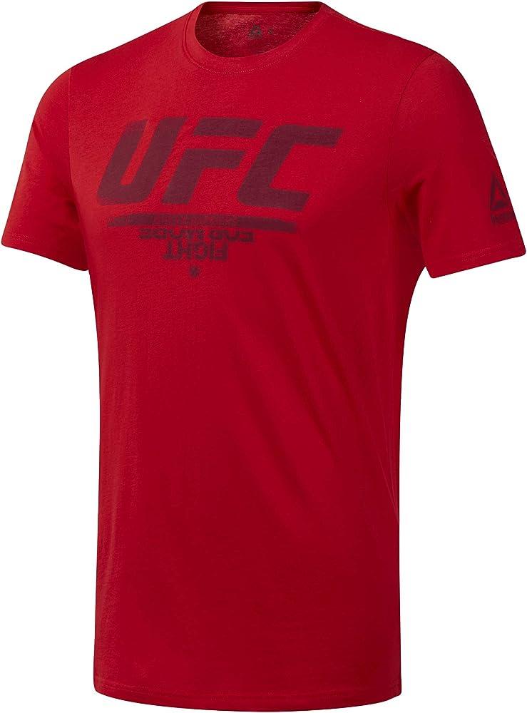 Reebok t-shirt, maglietta per uomo, 100 % cotone, maniche corte DU4585_XL