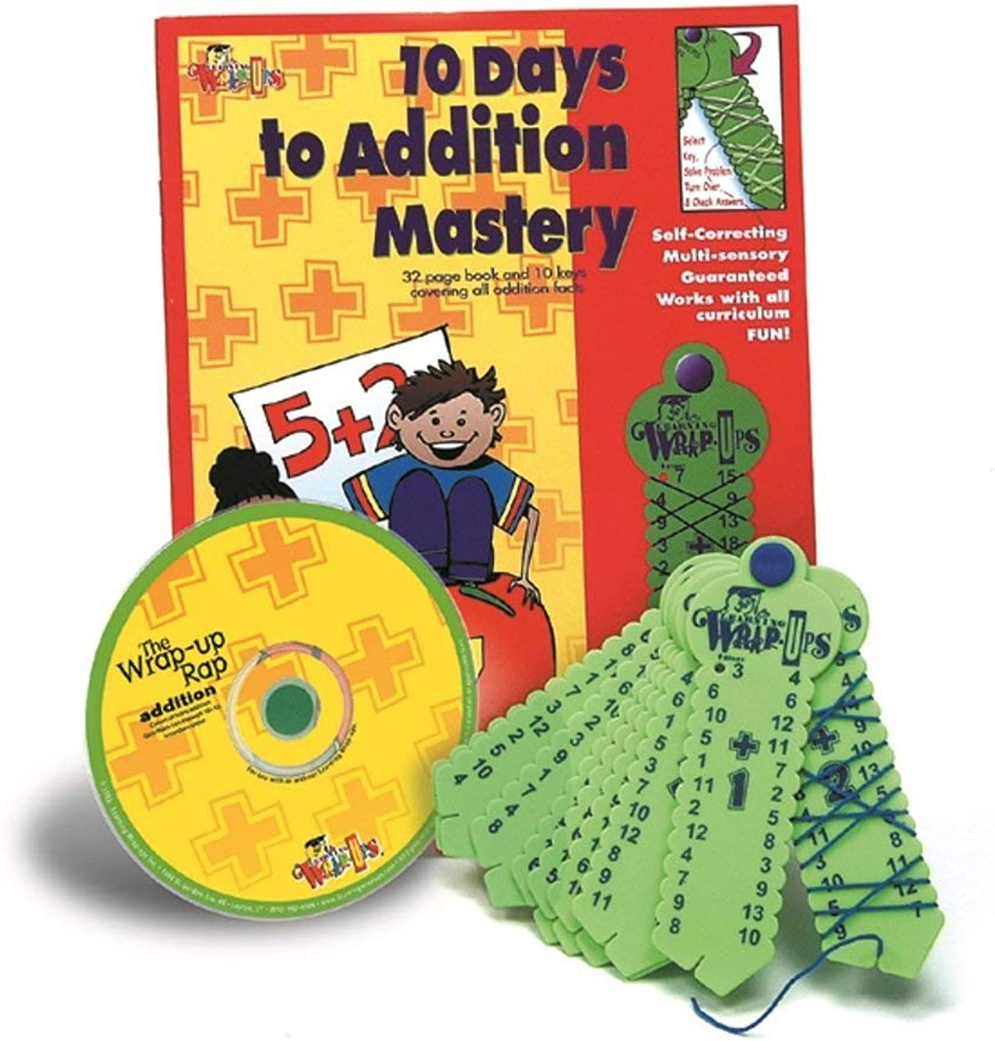 Learning Wrap-ups 10 Days to Addition Mastery Kit with CD by Learning Wrap-Ups B000S6OGA6  | Verkauf Online-Shop
