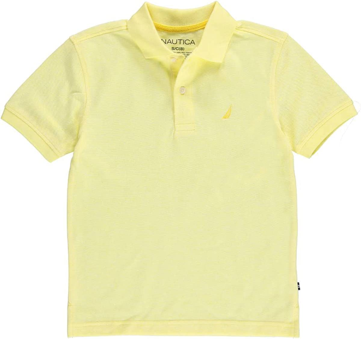 Nautica Boys' Short Sleeve Colorblock Deck Shirt