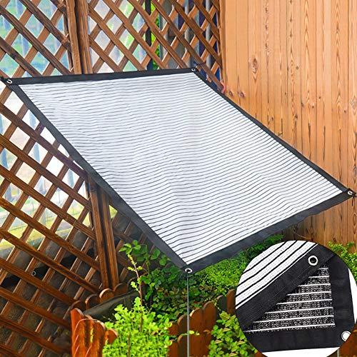 Filet D'ombrage Bord de Tissu D'ombrage en Aluminium Réfléchissant avec Œillets, Plante Extérieure Toit Pergola Voile D'ombre de Piscine, Chiffrement (Size : 1.8×3m)
