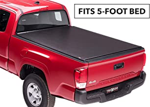 TruXedo Lo Pro Soft Roll Up Truck Bed Tonneau Cover | 545601 | fits 01-04 Toyota Tacoma Double Cab 5' bed